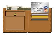 ACマスターカードと財布