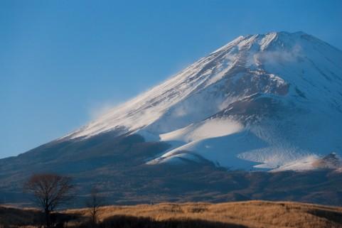 静岡県側から見た富士山