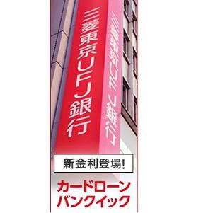 バンクイック即日三菱東京UFJ銀行カードローン