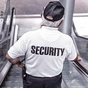 ビル施設のセキュリティ担当者(おじさん)
